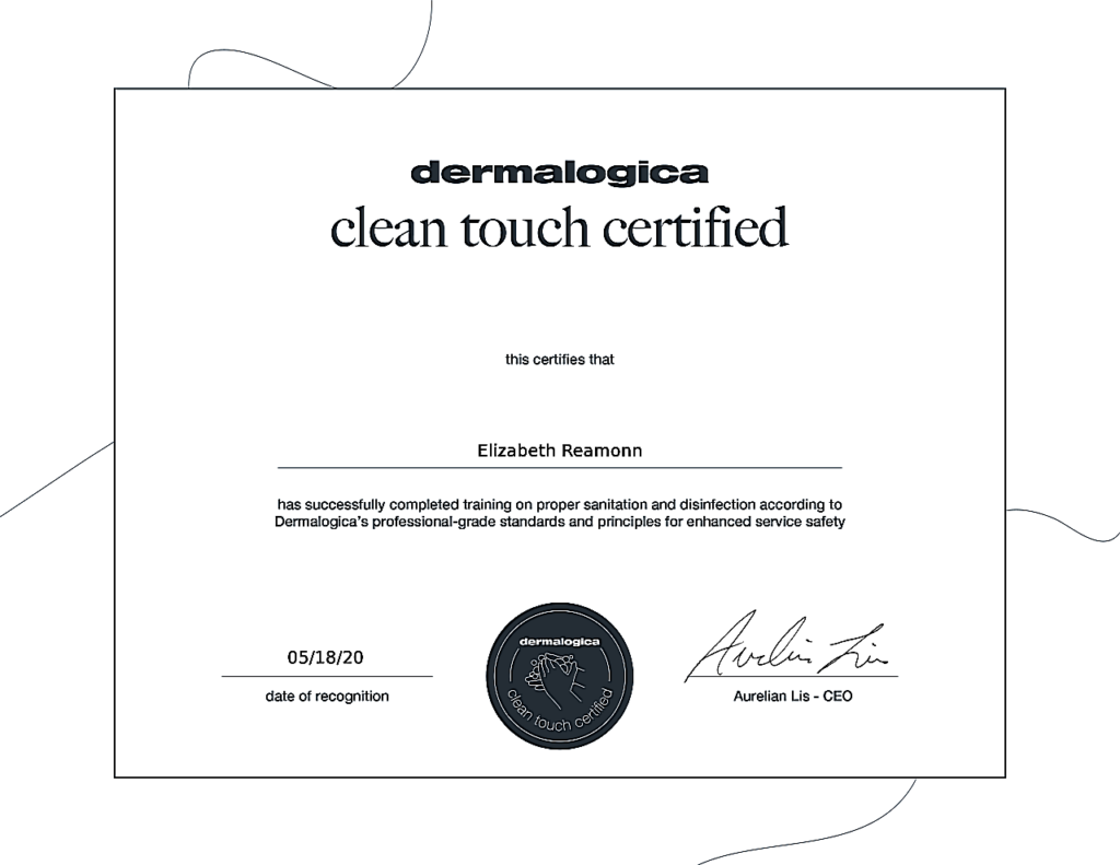 Certificate on Completion of Training on Proper Sanitation and Disinfection